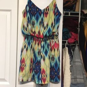 Beautiful texture and color romper size small